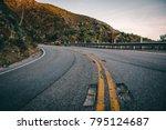highway in the los angeles... | Shutterstock . vector #795124687