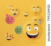 vector illustration. design of... | Shutterstock .eps vector #795124933