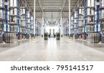 typical storage  warehouse... | Shutterstock . vector #795141517