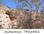 camp verde  arizona.  u.s.a. ... | Shutterstock . vector #795169453