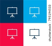 projector screen four color...