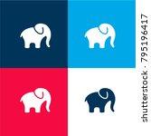 elephant alone four color...