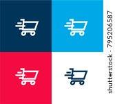 shopping cart moving symbol...