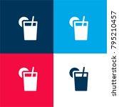 iced tea four color material...