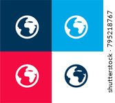 globe four color material and...