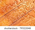 Abstract Raindrops Pattern On...