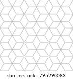 seamless geometric pattern. 3d...   Shutterstock .eps vector #795290083