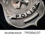 Cops and police officer badge...