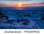 sunrise at lake superior   Shutterstock . vector #795349933