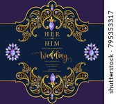 indian wedding invitation card ...