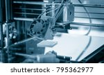 electronic three dimensional... | Shutterstock . vector #795362977