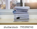 business and finance concept of ... | Shutterstock . vector #795398743
