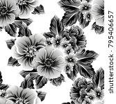 vintage delicate invitation... | Shutterstock .eps vector #795406657