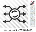 mixer node connections... | Shutterstock .eps vector #795409603