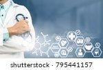 health insurance concept  ... | Shutterstock . vector #795441157