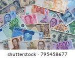 banknote of international... | Shutterstock . vector #795458677