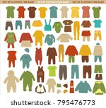collection of children's... | Shutterstock .eps vector #795476773