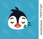 Penguin Emotional Head....
