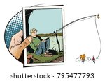 stock illustration. people in... | Shutterstock .eps vector #795477793