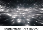 abstract white and black... | Shutterstock . vector #795489997