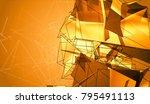 abstract background orange... | Shutterstock . vector #795491113