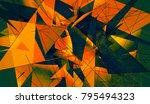 red beautiful illustration... | Shutterstock . vector #795494323