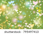 abstract background vector... | Shutterstock .eps vector #795497413