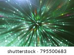 abstract green background.... | Shutterstock . vector #795500683