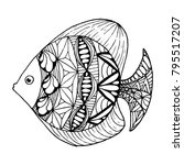 ornated fish zenart