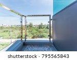 construction modern style... | Shutterstock . vector #795565843