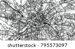 urban vector city map of... | Shutterstock .eps vector #795573097