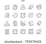 time well crafted pixel perfect ... | Shutterstock .eps vector #795579433