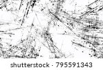 dots and spots of halftone... | Shutterstock .eps vector #795591343