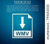 wmv file document icon....