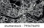 urban vector city map of... | Shutterstock .eps vector #795676693
