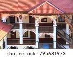 rila monastery architectural... | Shutterstock . vector #795681973