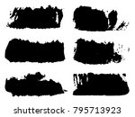 vector collection of artistic... | Shutterstock .eps vector #795713923