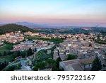 amelia  terni  umbria  italy  ... | Shutterstock . vector #795722167