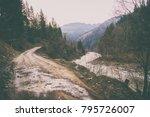 magnificent natural landscapes... | Shutterstock . vector #795726007