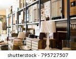 wide range of vintage furniture ... | Shutterstock . vector #795727507
