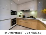 kitchen interior image | Shutterstock . vector #795750163