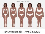 vector illustration body mass... | Shutterstock .eps vector #795752227