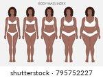 vector illustration body mass... | Shutterstock .eps vector #795752227