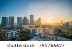 the capital of the philippines... | Shutterstock . vector #795766627