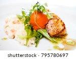 haute cuisine  gourmet food...   Shutterstock . vector #795780697
