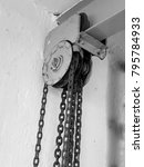 Small photo of Heavy equipment pulley