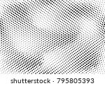 abstract halftone dotted grunge ... | Shutterstock .eps vector #795805393