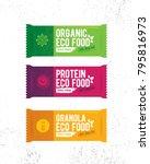 Healthy Organic Snack Bar...