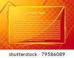 illustration of copy space on... | Shutterstock .eps vector #79586089