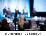 shallow depth of field view of... | Shutterstock . vector #795885907